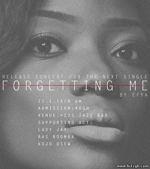Efya forgotten me