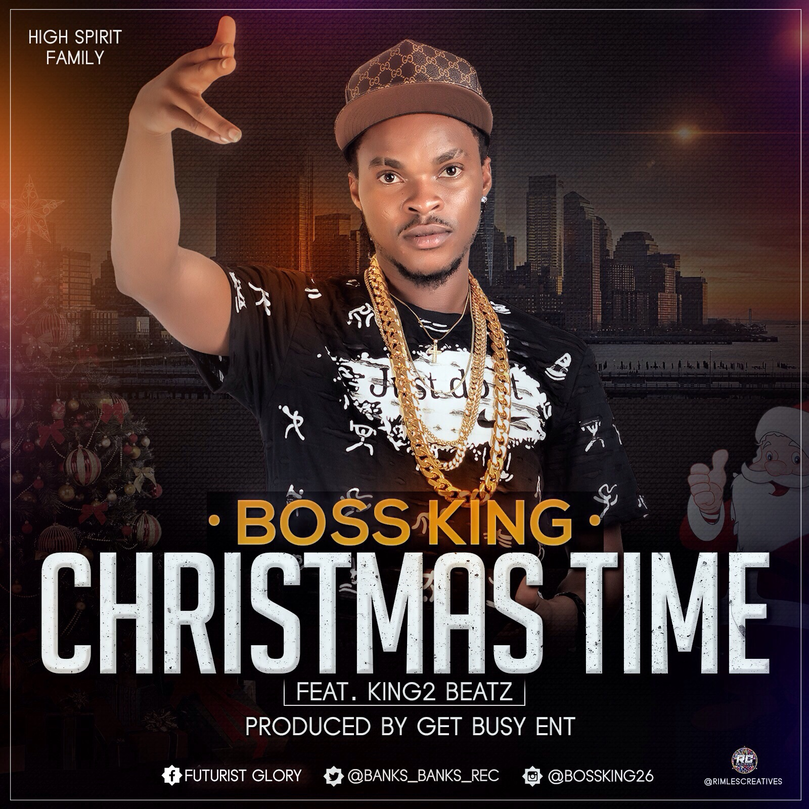 Boss King Christmas Time Ft