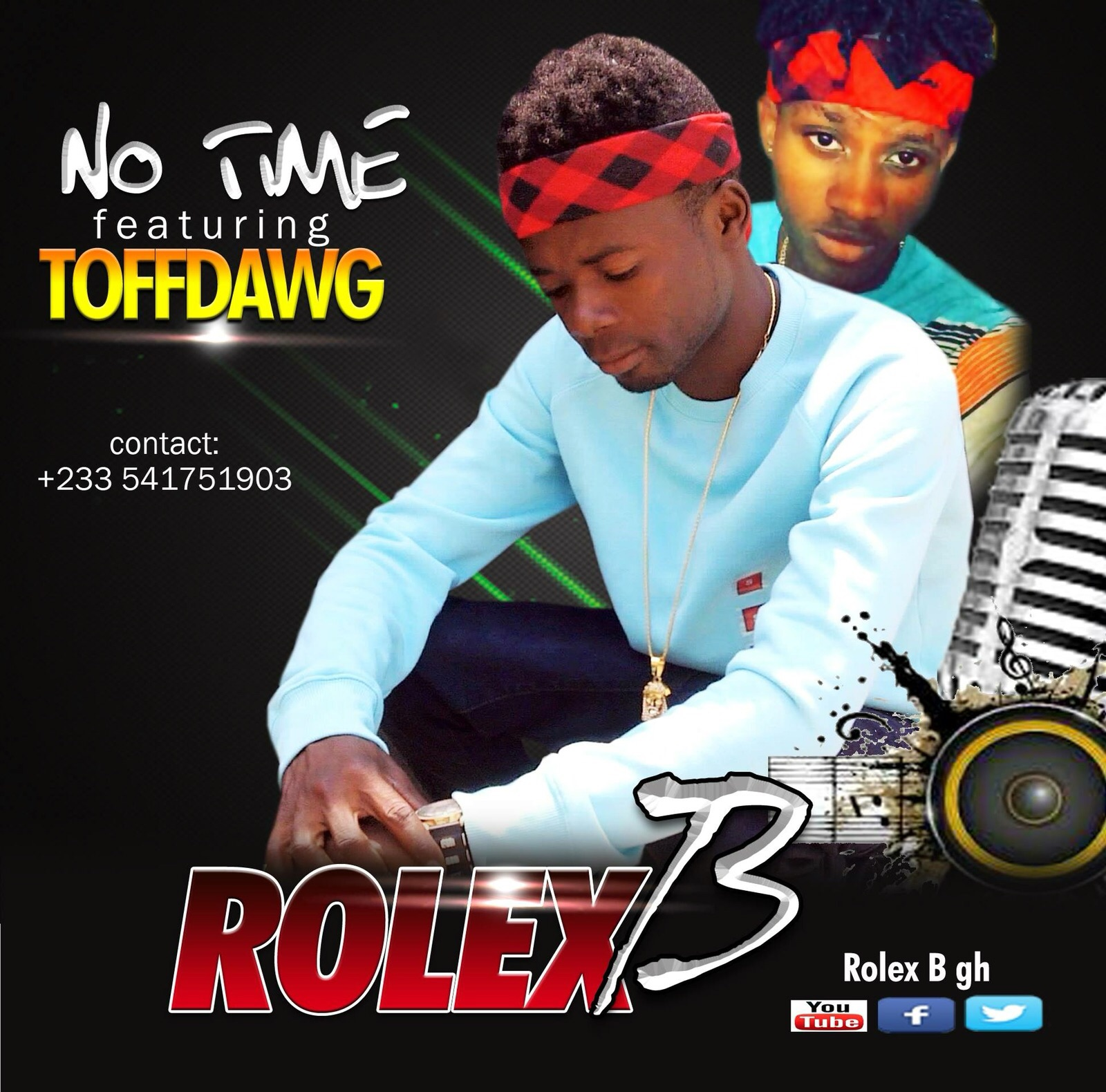 Rolex B No Time ft ToffDawg Prod by DDT