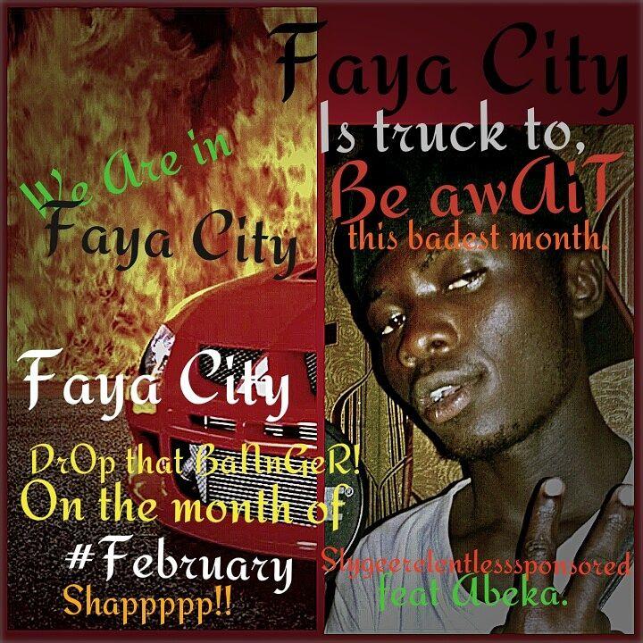 Sly Gee Faya City Ft