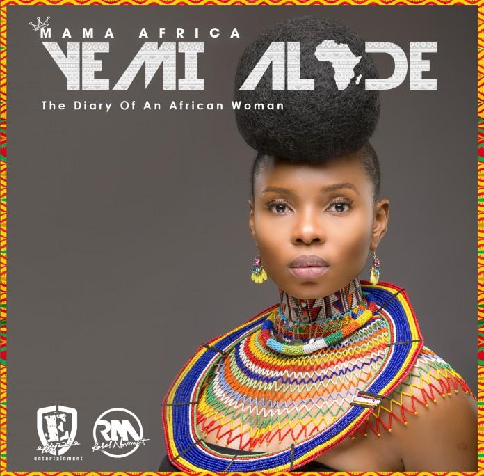 Yemi Alade Mama Africa Standard Album Cover Art