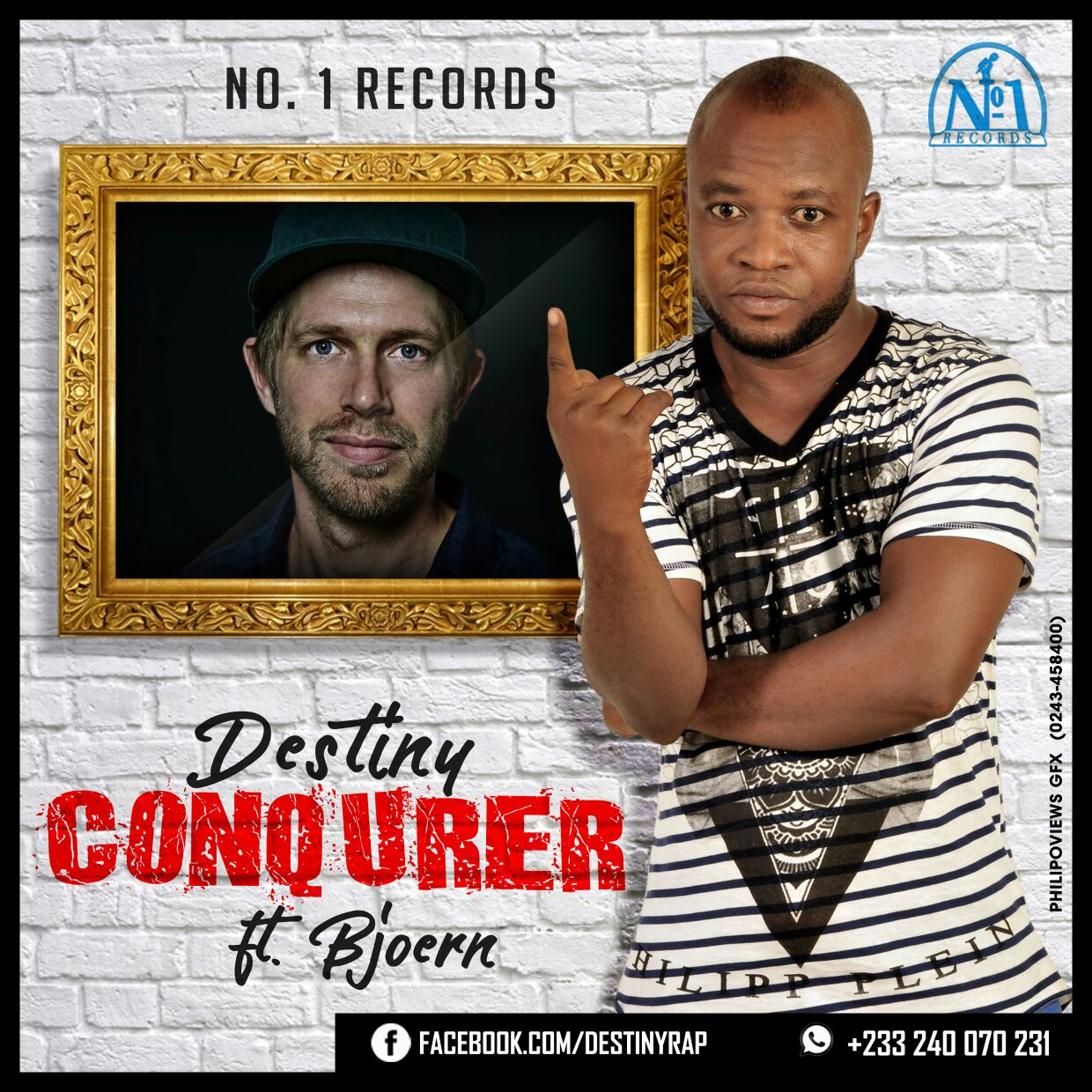 Destiny Conqurer ft Bjeron prod by Tombeatz