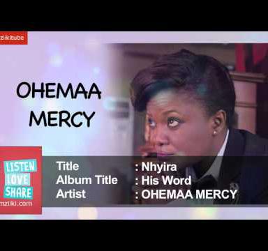 Ohemaa Mercy Nhyira Prod