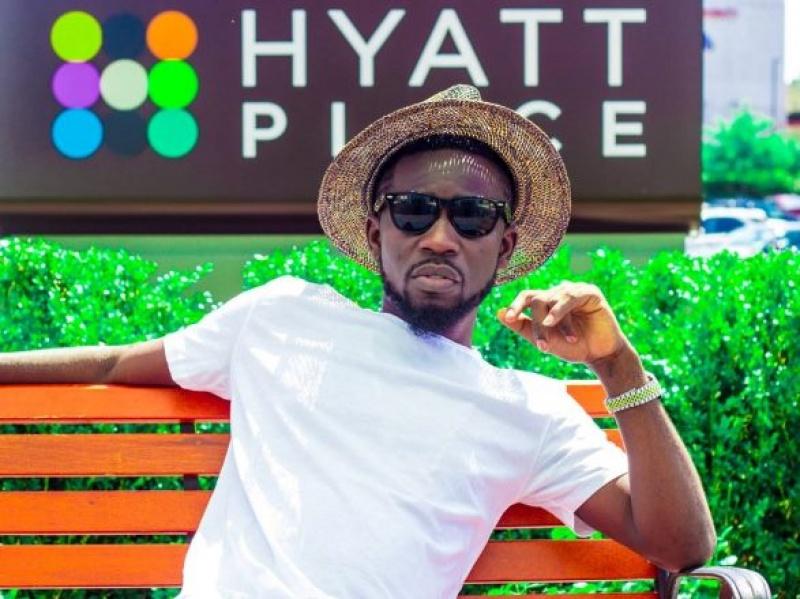 Bisa KDei hits studios with Davido