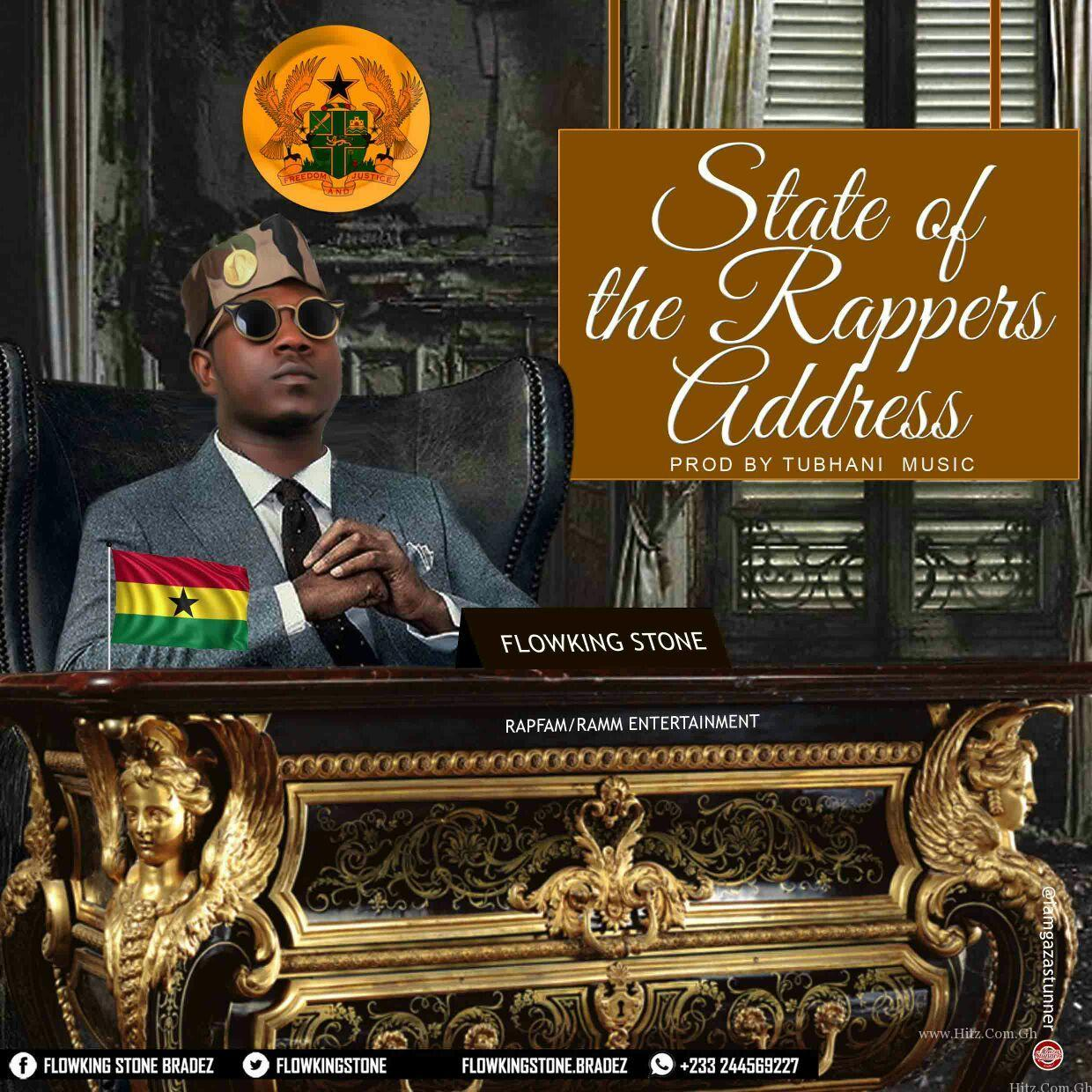 Flowking Stone State Of The Rappers Address SORA
