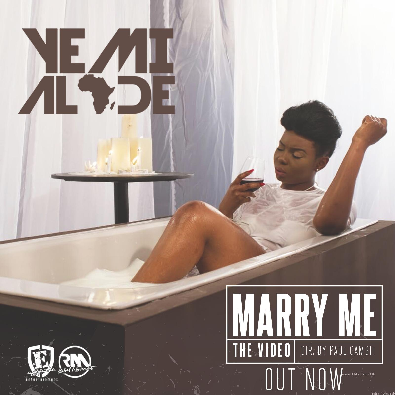 Yemi Alade Marry Me Video Poster