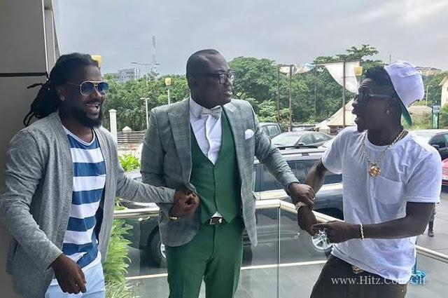 Samini and Shatta Wale finally collaborate on a song Listen Up