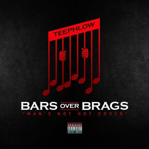 Teephlow – Bars Over Brags Man's Not Hot Cover