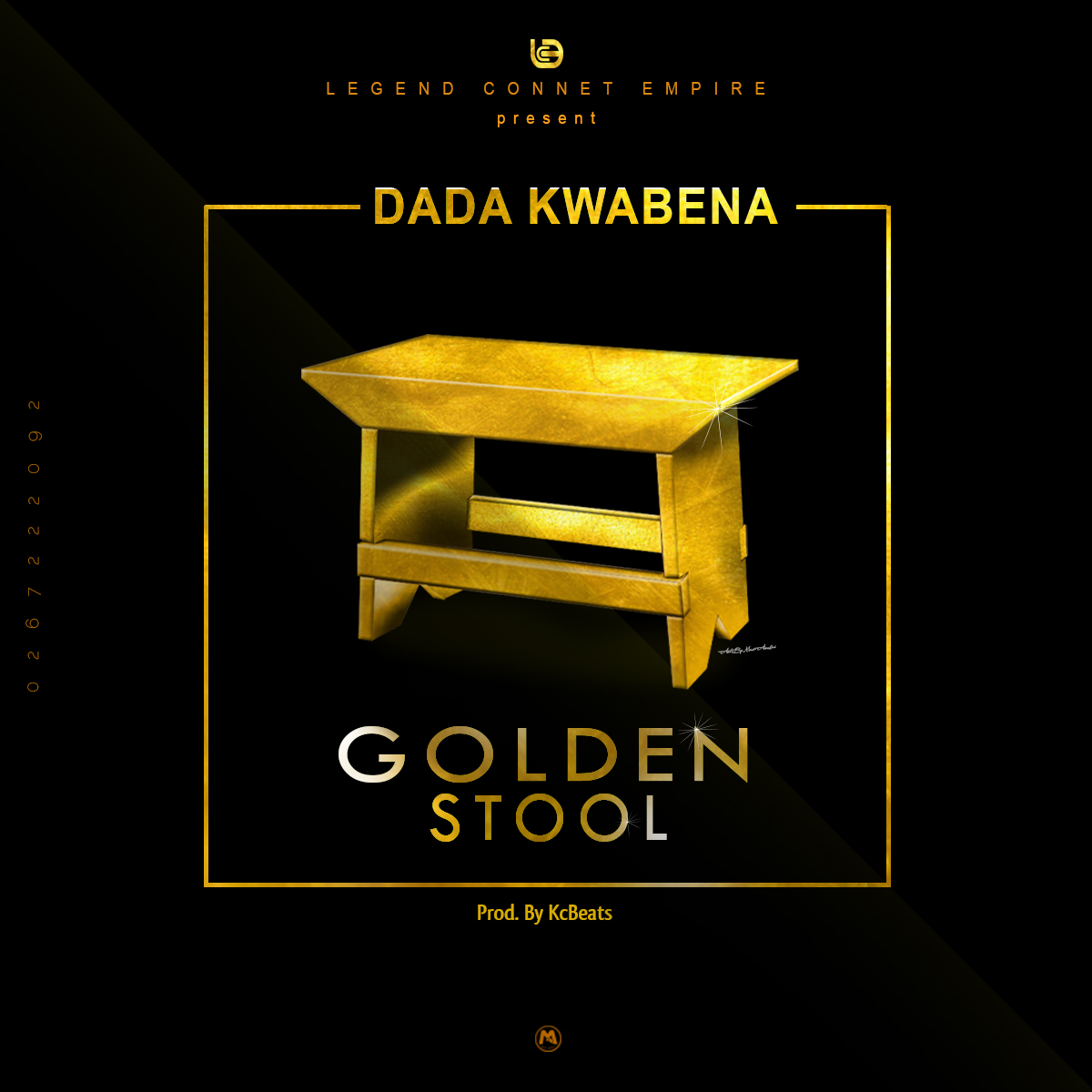Dada Kwabena Golden Stool Art By MuseAwakesGfx