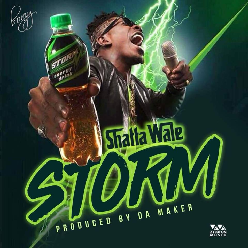 Shatta Wale – Storm Energy Prod By WillsBeatz