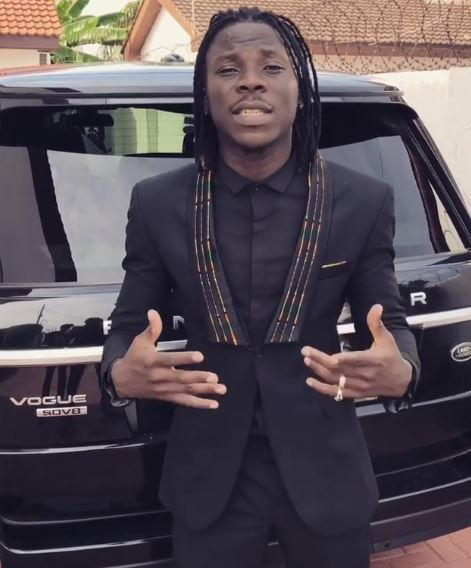 Stonebwoy Shows Off His Range Rover