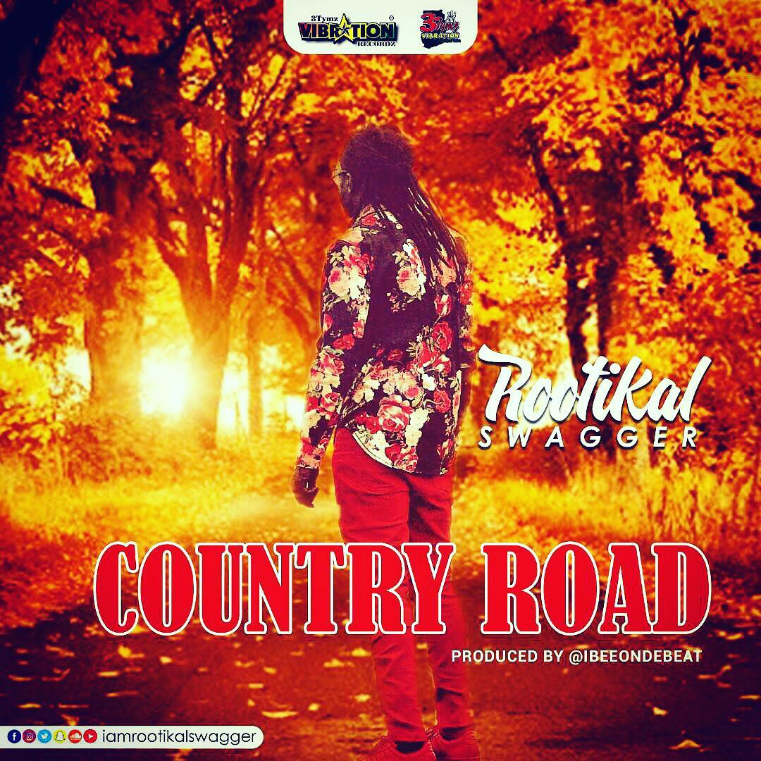 Country Road Art Cover