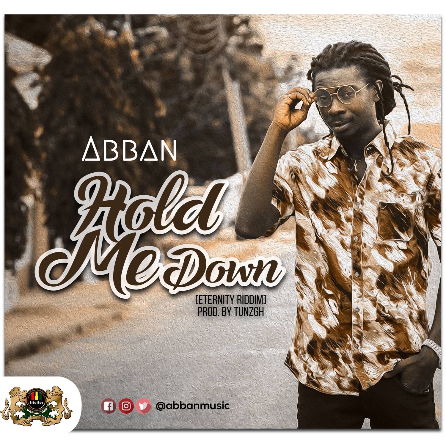Abban Hold Me Down art
