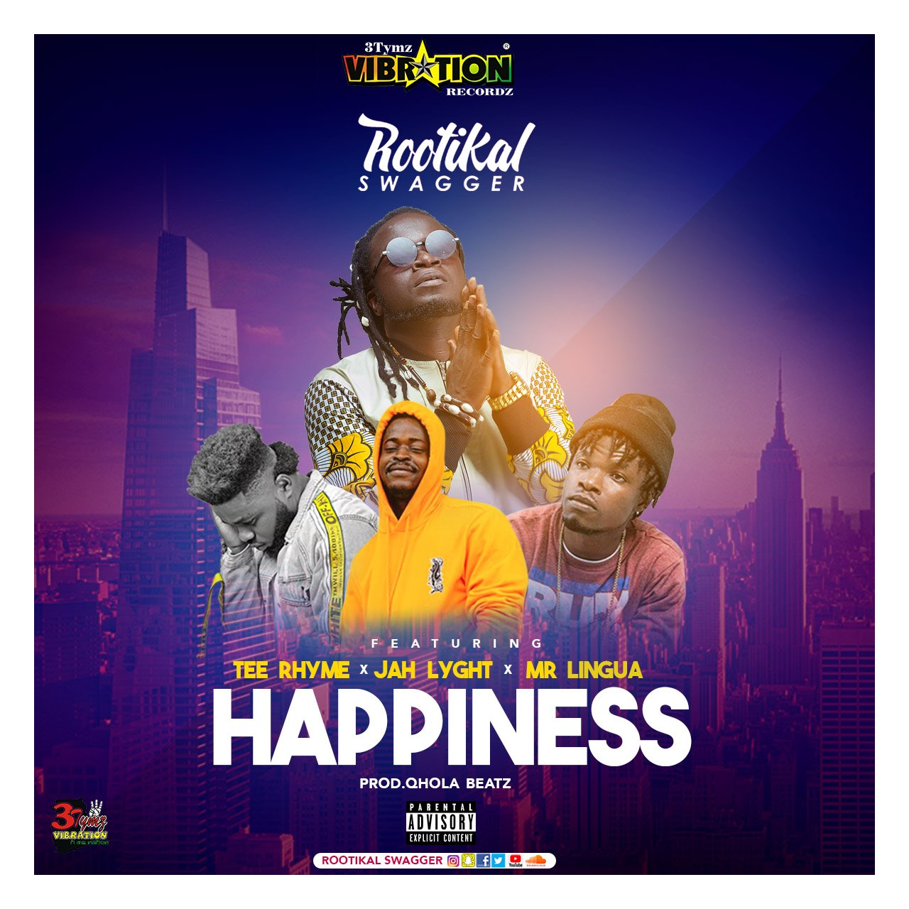Happiness art cover