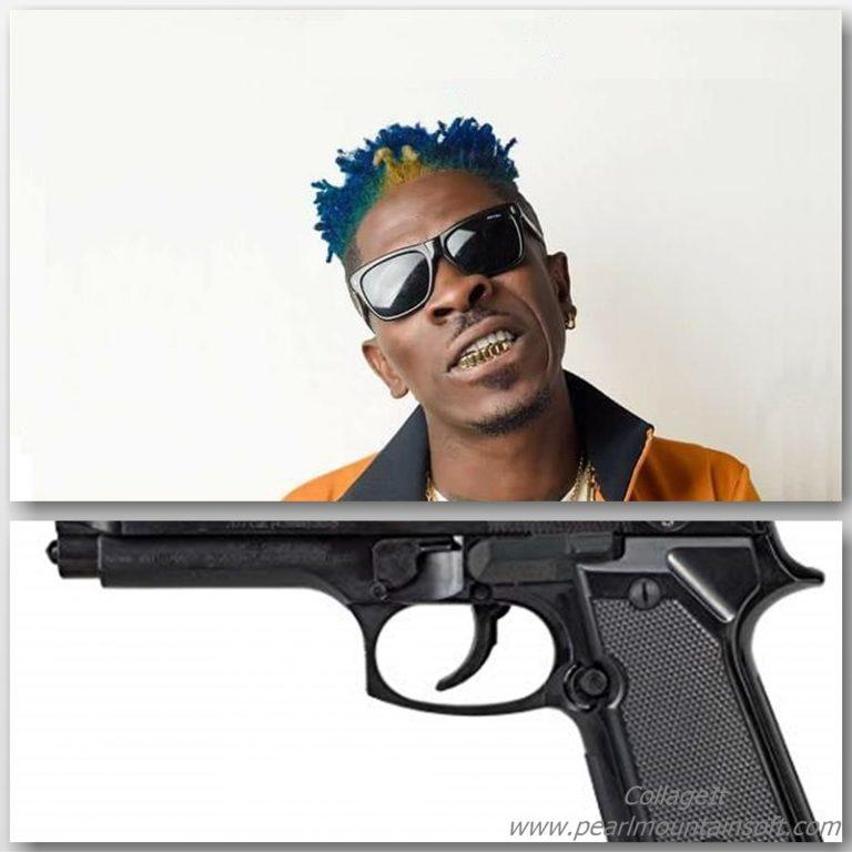 shatta wale gun
