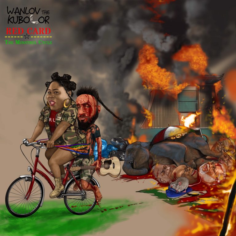 Wanlov The Kubolor – Red Card (The Minstrel Cycle) (Full Album)