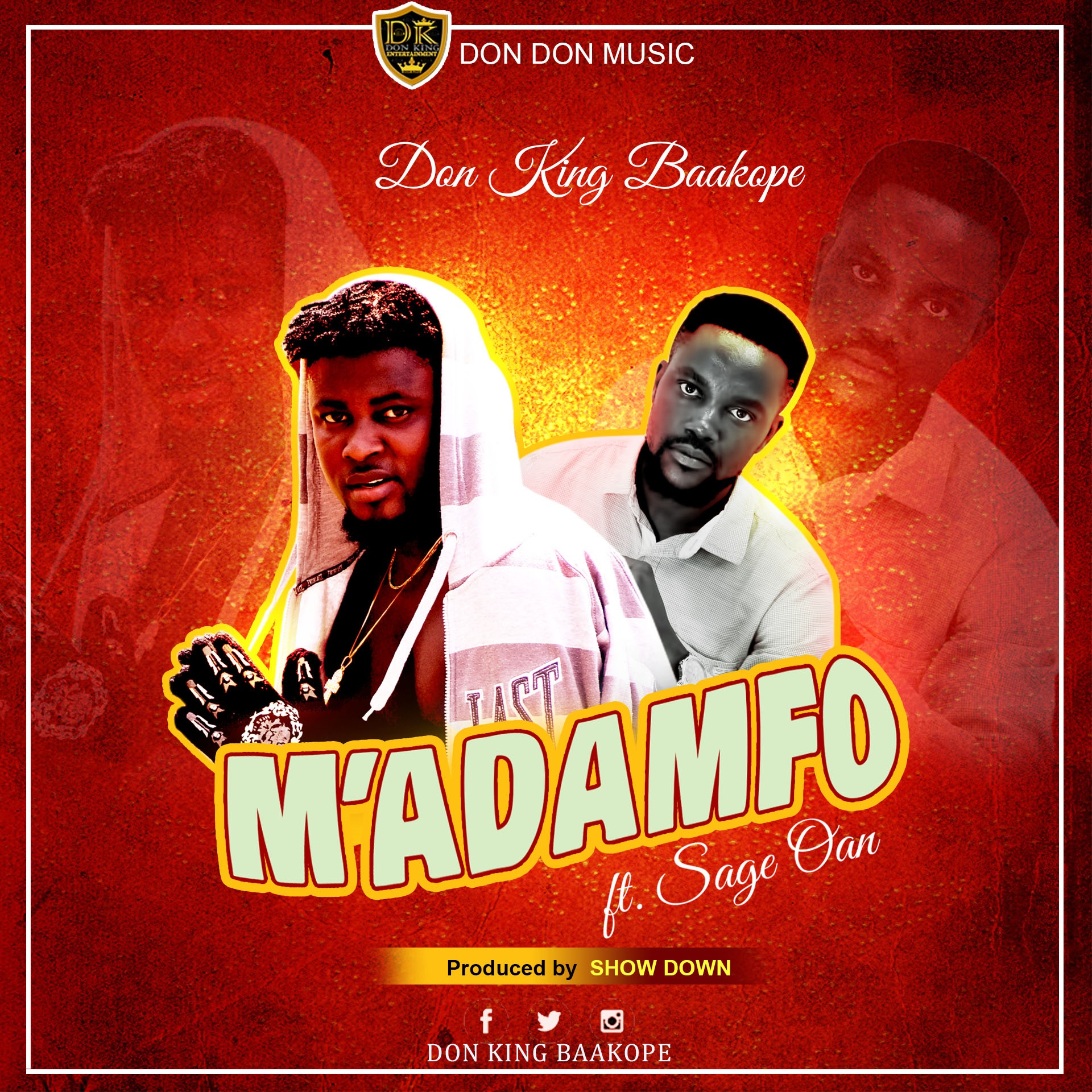 Don King Feat. SaGe Oan - M'Adamfo