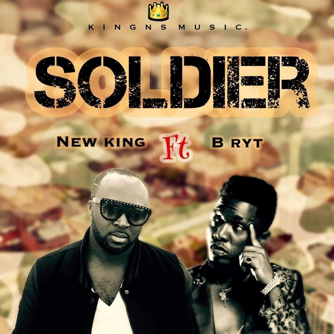 New King Feat B Bryt - Soldier