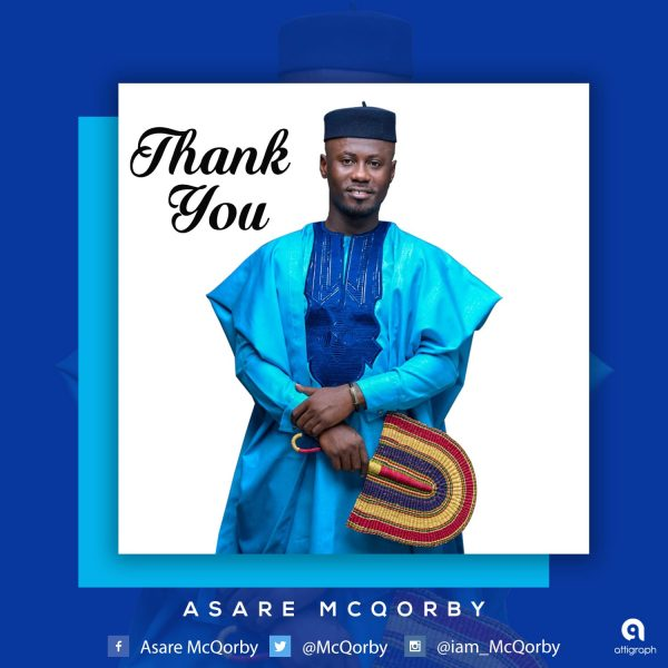 Asare McQorby - Thank You (Prod. By Davine Studios)
