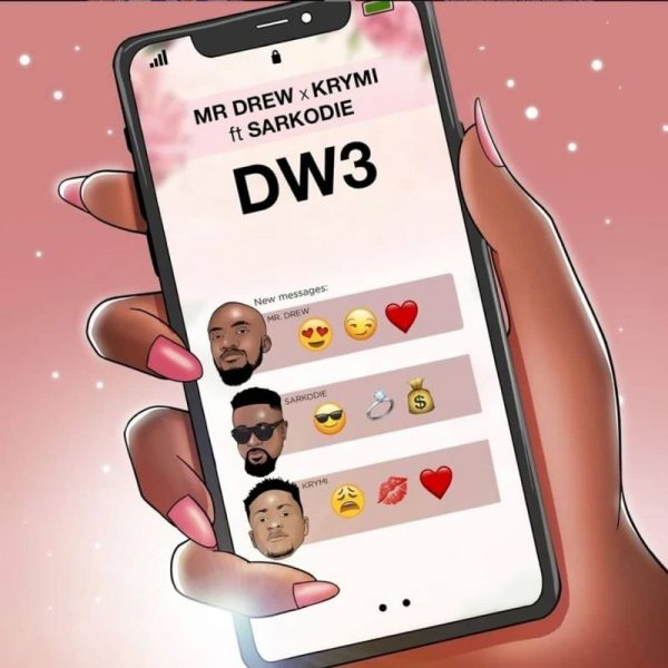 Mr. Drew & Krymi ft. Sarkodie – Dw3 (Prod. by Kaywa)