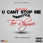 Tee Rhyme – U Cant Stop Me (still  dre cover) Mixed by cabum
