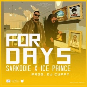 Ice Prince x Sarkodie - For Days (Prod. by DJ Cuppy) [www.hitzgh.com]