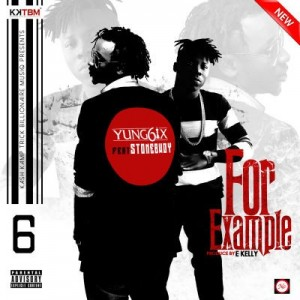 Yung6ix – For Example Ft. Stonebwoy (Prod. by E-Kelly)