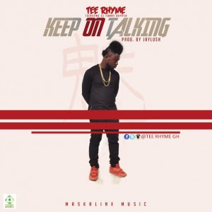 Tee Rhyme - Keep On Talking (Asem give me blow cover)