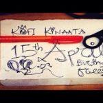 Kofi Kinaata – 15th April Birthday Freestyle (Prod by BigDee Beat)