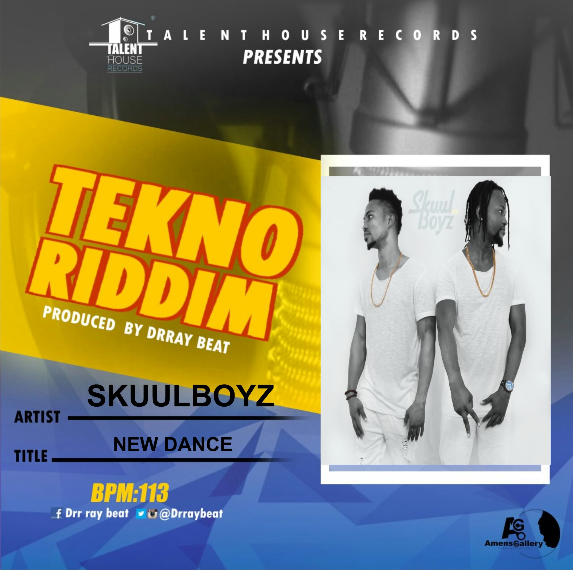 Skuulboyz – New Dance (Tekno Riddim)  (Prod by drraybeat)