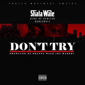 Shatta Wale - Don't Try (Criss Waddle Diss) (Prod By Da Maker)