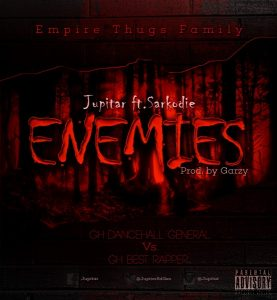 Jupitar – Enemies (Feat Sarkodie) (Instrumental)