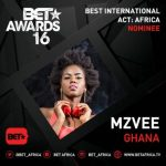 MzVee , Yemi Alade & Wizkid Bag 2016 BET Awards Nominations, See Full List