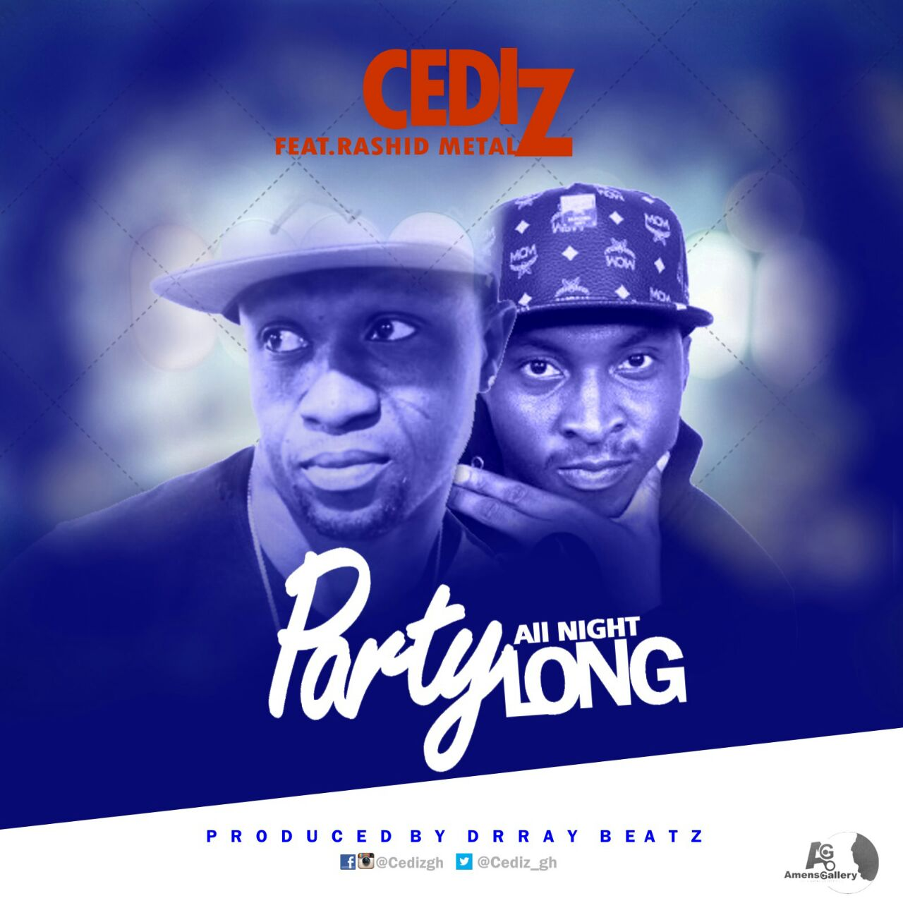 Cediz – Party All Night ft Rashid Metal (Prod. By DrRay Beatz)