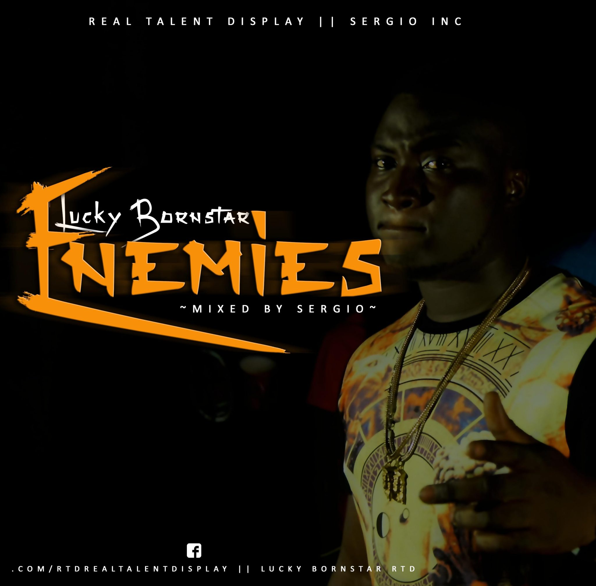 Lucky BornStar – Enemies (Mixed by SergioGenius)