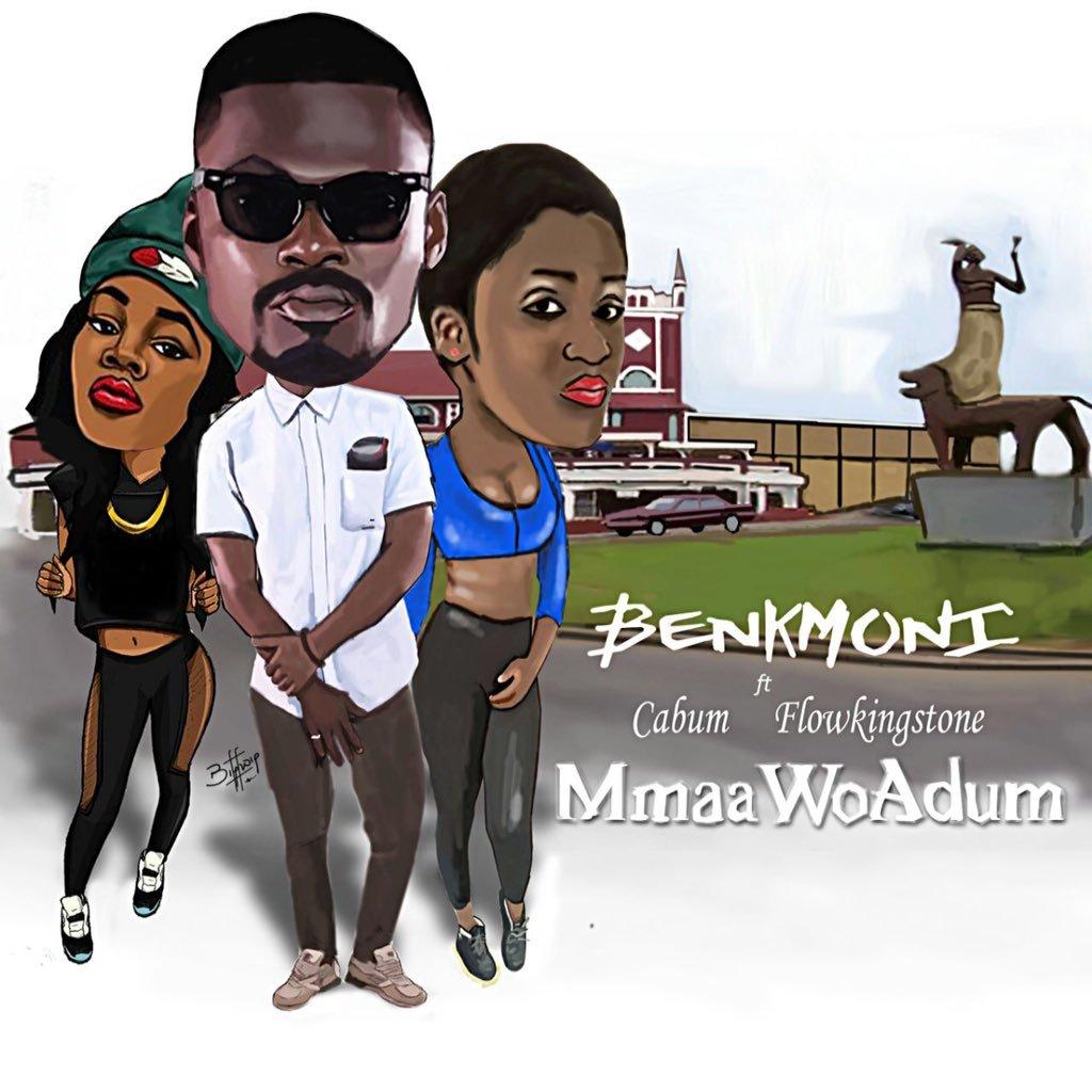Benk Moni – Maa Wa Adum Ft Cabum Flowking (Prod. By Prod. By Cabum)
