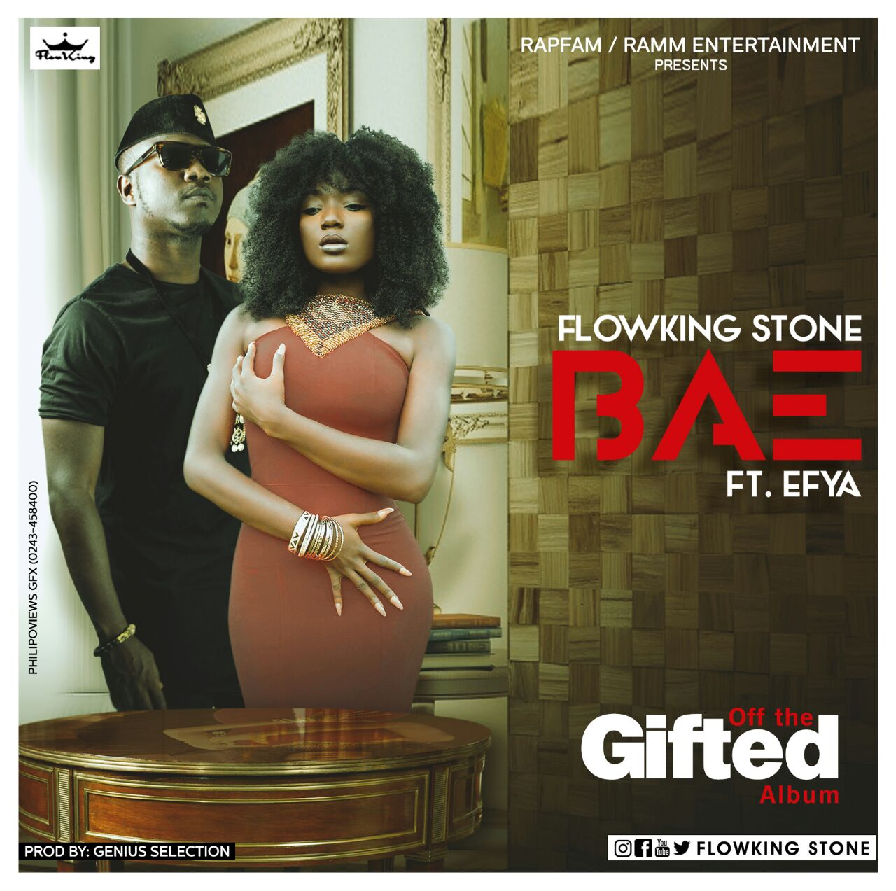 Flowking Stone – Bae (Ft. Efya) Prod. By Genius Selection