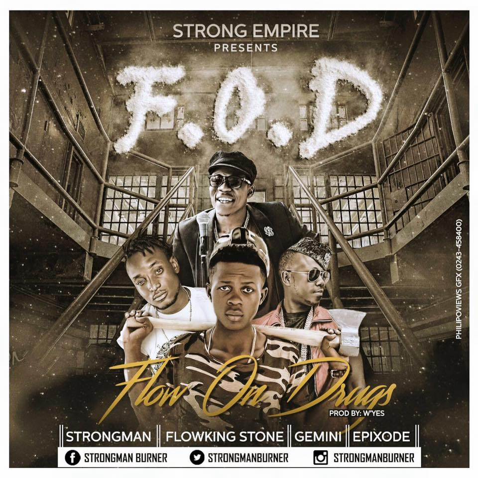 Strongman - Flow On Drugs (Feat Flowking Stone, Gemini & Epixode)