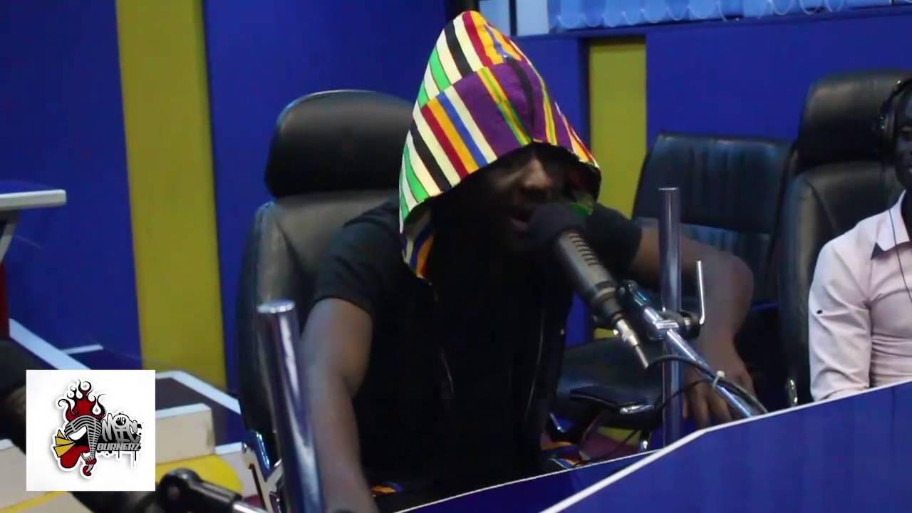 Watch: Amerado Non Stop 60 Minutes Rap on Kesben F.M