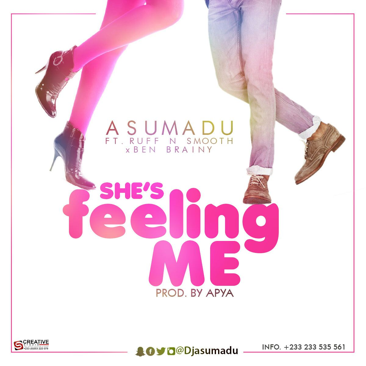 Asumadu – She's Feeling Me ft Ruff N Smooth x Ben Brainy (Prod by Apya)