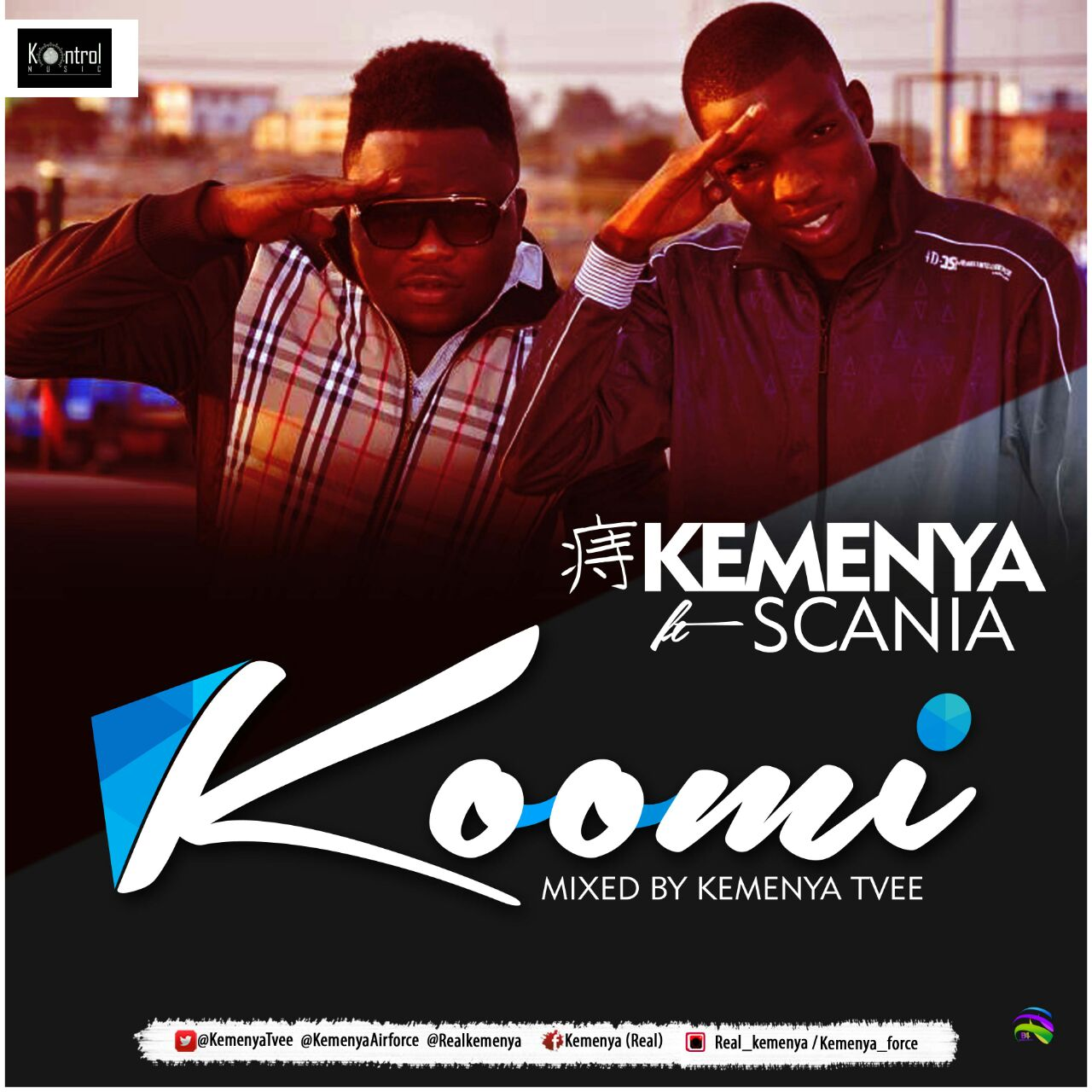 Kemenya ft Scania - Koomi (Mixed by KemenyaTVee)