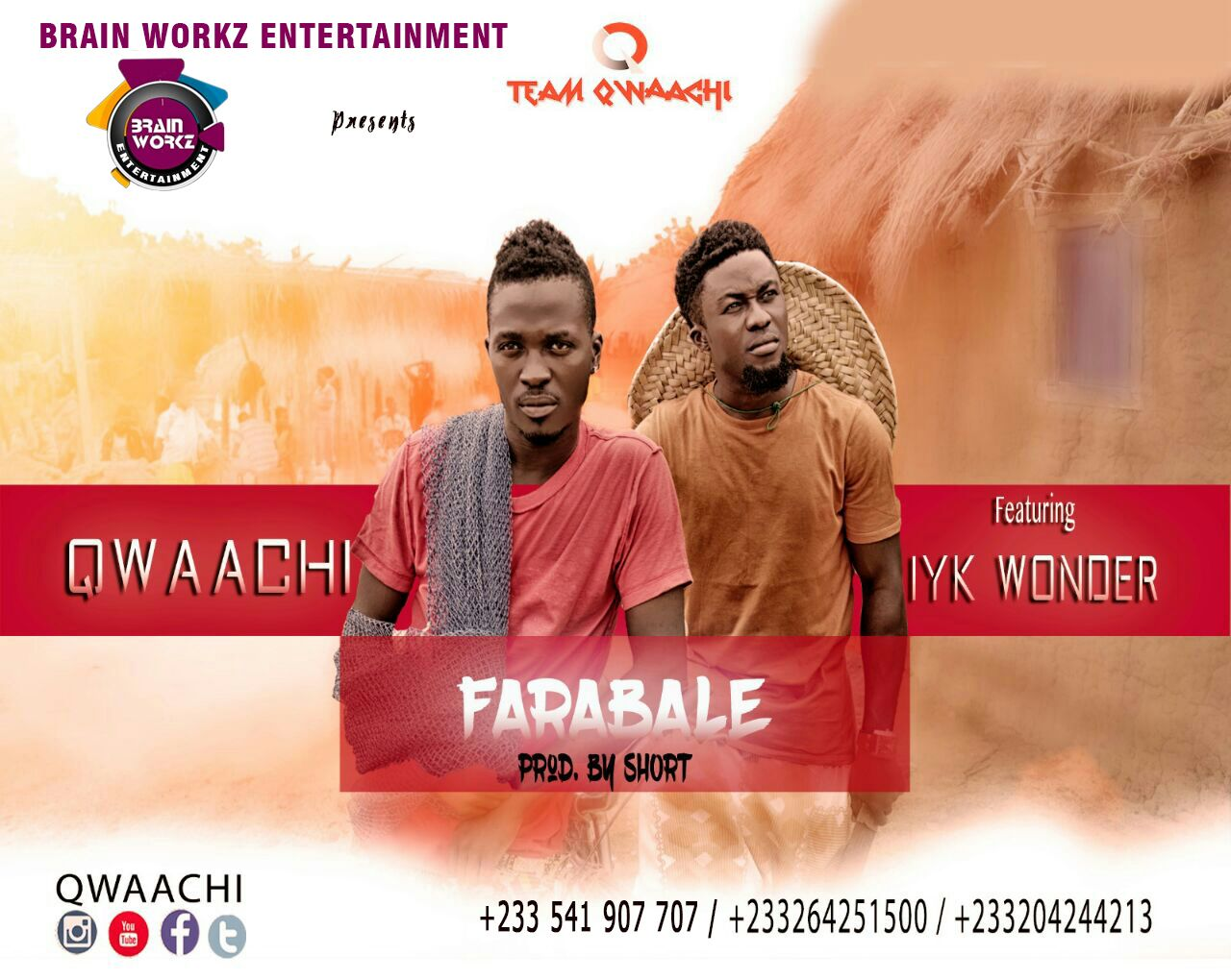 Qwaachi – Farabale Ft Iyk Wonder (Prod By Short)