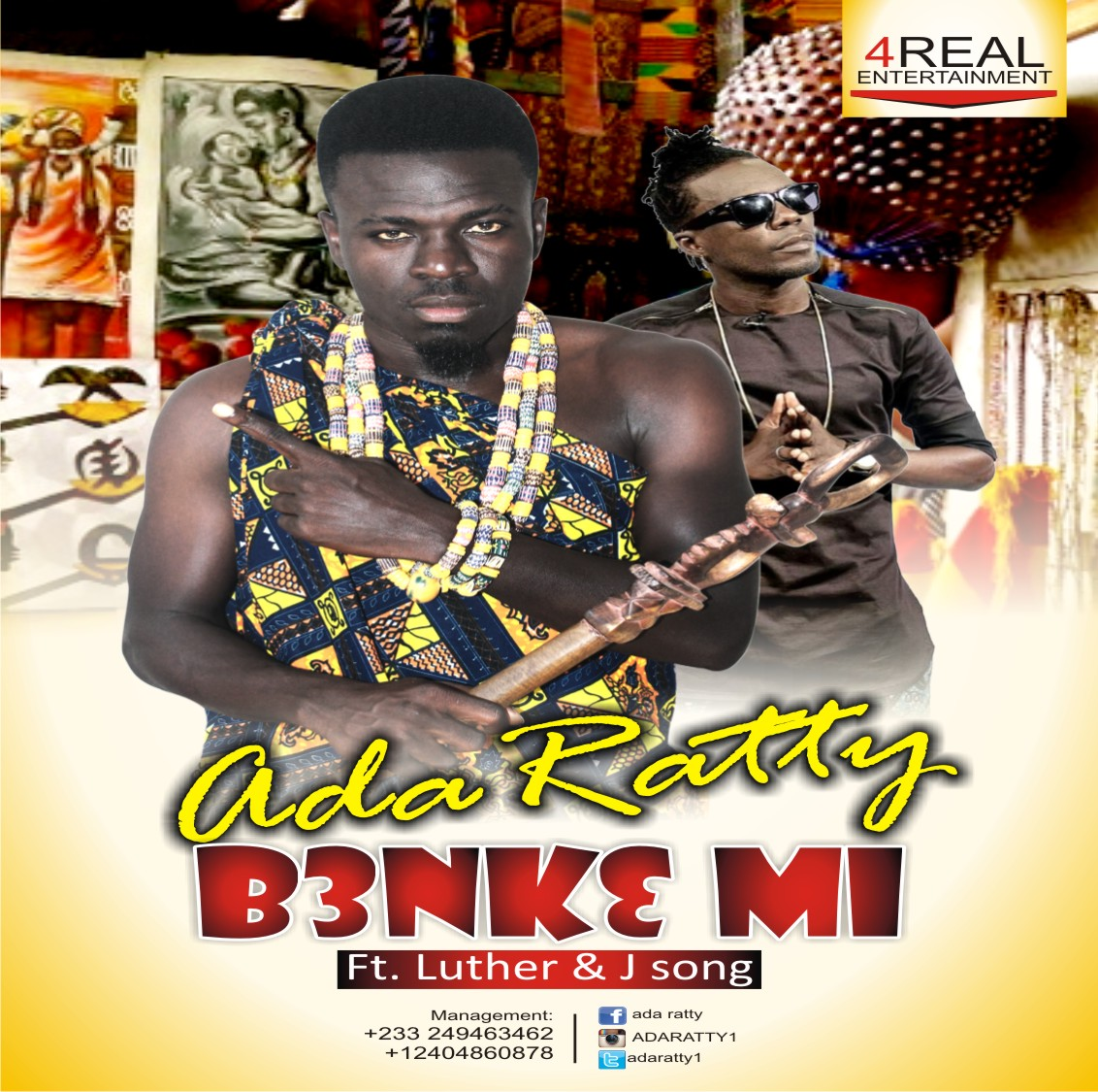 Ada Ratty X Luther – Benkemi (Prod by Mr B)