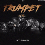 Sarkodie – Trumpet ft. TeePhlow, Medikal, Strongman, Koo Ntakra, Donzy & Pappy Kojo (Prod. By DefClef & Mixed By Fortune Dane)