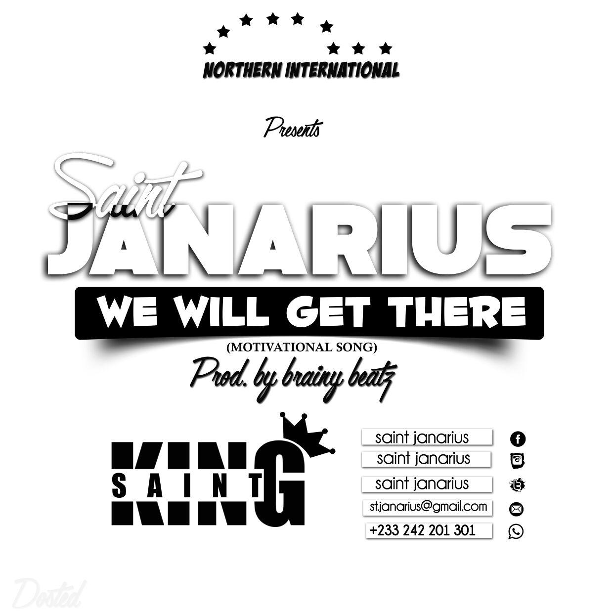 Saint Janarius – Will Get There (Prod. B Engine records & Brainy Beatz)