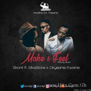 Skonti – Make I Feel feat. Silvastone X Okyeame KwameProd By Skonti 300x300 - Skonti – Make I Feel (feat. Silvastone X Okyeame Kwame)(Prod By Skonti)