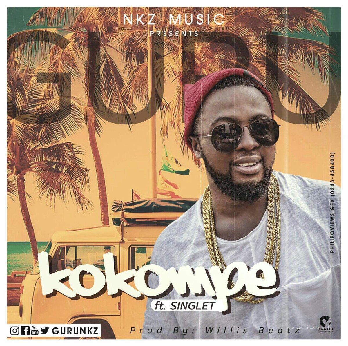 Guru – KoKompe Love ft Singlet (Prod By Willis Beat)