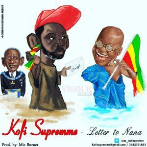 Kofi Supremme Letter To Nana Prod. By Mic Burners Studio 300x300 - Kofi Supremme - Letter To Nana (Prod. By Mic Burner)