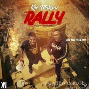 Koo Ntakra – Rally ft. Nii MayWeda 300x300 - Koo Ntakra - Rally feat Nii MayWeda (Prod By Qhola Beatz)