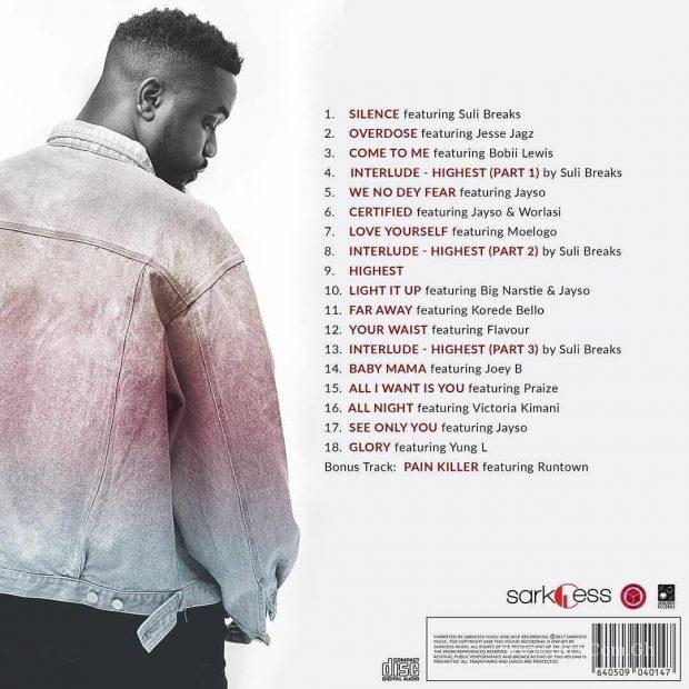 sarkodie highest album tracklist 620x620 - Sarkodie - All I Want Is You (featuring Praize)